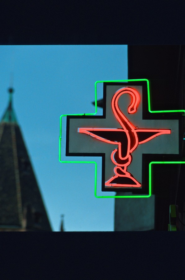 clinically双蛇杖标志