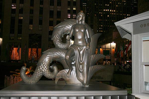 美国城市雕塑图片_全景网